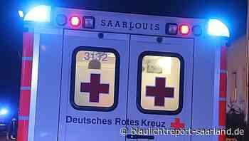 Schwerer Unfall zwischen Pkw und Motorrad in Dillingen - Blaulichtreport-Saarland