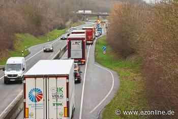 Vollsperrung auf der B 54 zwischen Münster-Nienberge und Altenberge - Allgemeine Zeitung