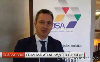Grassobbio, i primi pazienti trasferiti al Winter Garden - L'Eco di Bergamo