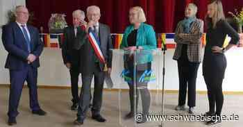 Ertingen und Granges-Aumontzey zelebrieren enge deutsch-französische Partnerschaft - Schwäbische