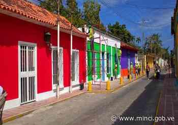 Rehabilitan vialidad y zona colonial de Ocumare de la Costa - MinCI