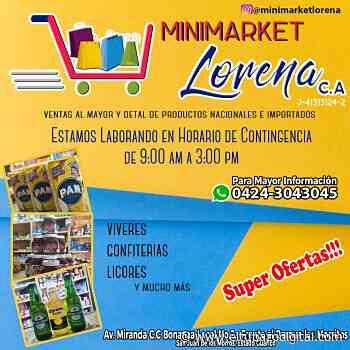 NUEVO HORARIO / Habitantes de San Juan de los Morros acuden a Minimarket Lorena - El Tubazo Digital