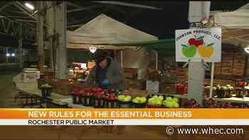 Rochester Public Market remains open for food shopping during COVID-19 crisis