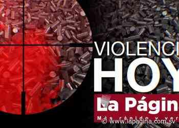 Pandilleros asesinan a abuelo y nieto en Guatajiagua, Morazán - Diario La Página - Diario La Página