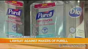 Purell manufacturer accused of 'misleading' customers in lawsuit