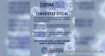 Itaporanga tem 1º caso suspeito de Coronavírus - Jornal Sudoeste Paulista