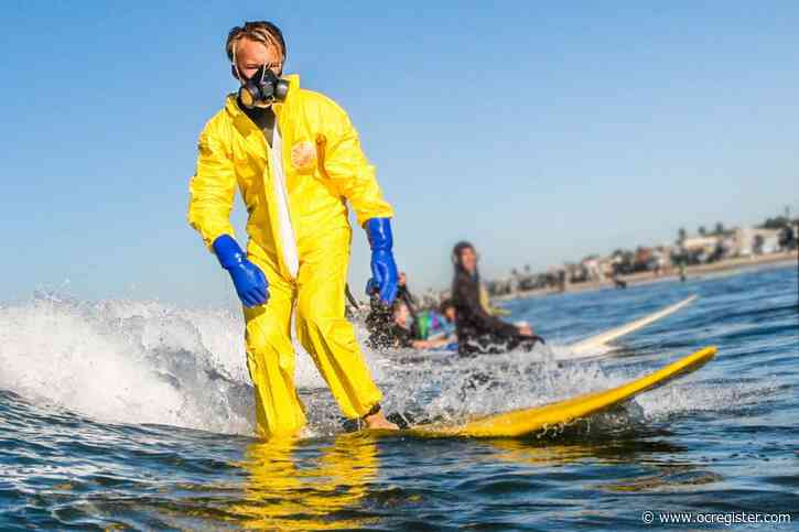 Is surfing OK during coronavirus order to keep your distance from others? How surfers are adapting
