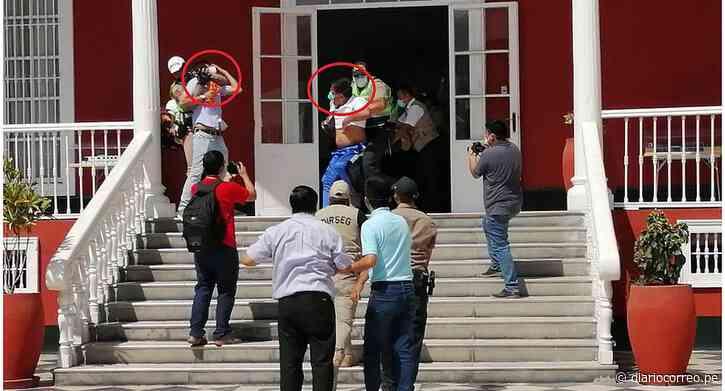 Coronavirus: Alcaldes de Ascope y Virú son retirados a la fuerza de la Casa de Gobierno (VIDEO) - Diario Correo