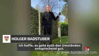 #WirBleibenZuhause - Holger Badstuber macht mit - Bundesliga.de