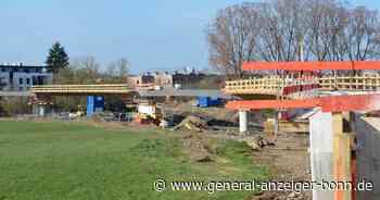 Horstmannsteg: Brücke zwischen Alfter und Hennef nimmt Gestalt an - General-Anzeiger