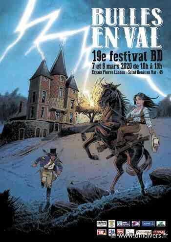 Festival « Bulles en Val » Espace Pierre Lanson 7 mars 2020 - Unidivers