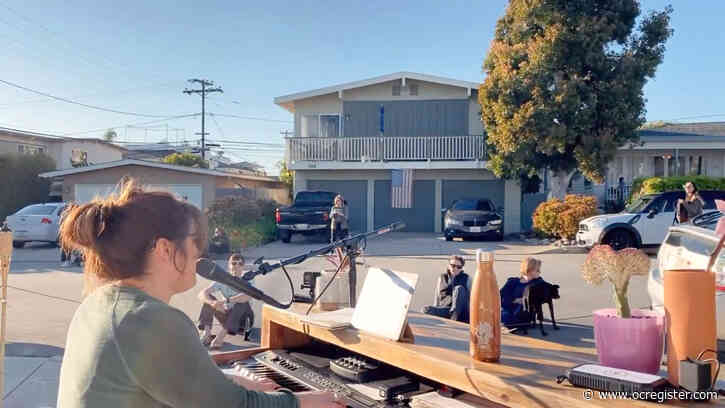 This video of a driveway piano concert for neighbors during coronavirus restrictions will cheer you up