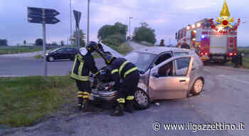 Frontale a San Dona' di Piave: due feriti - Il Gazzettino