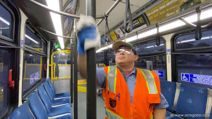 OCTA cuts some bus service as ridership and staffing decrease amid coronavirus outbreak