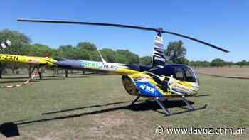 Un detenido en Villa del Totoral por violar la cuarentena en helicóptero - La Voz del Interior