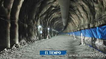 Hito para los caldenses: túnel de Tesalia terminó excavaciones - El Tiempo