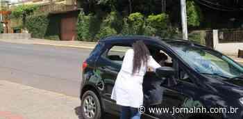 Campanha de vacinação começa com drive thru em Ivoti - Jornal NH