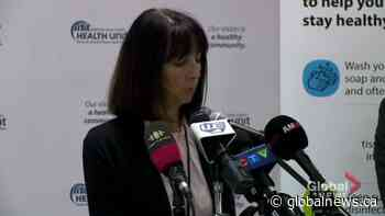 Coronavirus outbreak: Ontario's Windsor-Essex County reports first COVID-19 case | Watch News Videos Online - Globalnews.ca