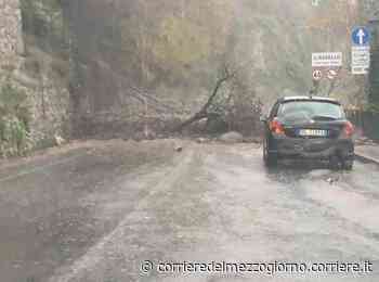 Frane a Ravello e sull'Amalfitana, esonda lago Patria e si allaga l'Irpinia - Corriere del Mezzogiorno
