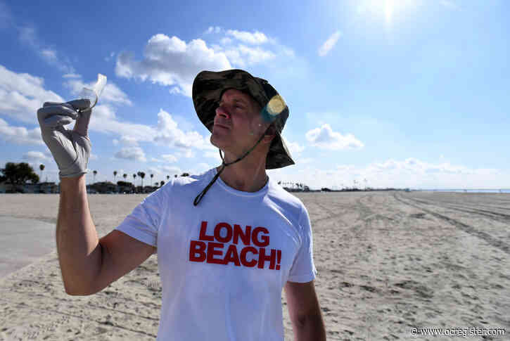 During coronavirus crisis, Long Beach's event king Justin Rudd still determined to help, even while crowds he inspires can't gather
