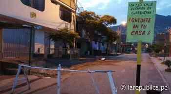 Vecinos se organizan para hacer respetar la cuarentena con tranqueras y letreros en Carabayllo - LaRepública.pe