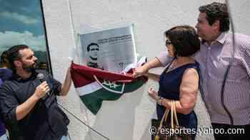 Fluminense inaugura placa em homenagem a Carlos Castilho - Yahoo Esportes