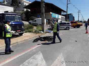 Motociclista morre em acidente na rodovia Ivo Silveira, em Gaspar - ND - Notícias