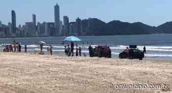 VÍDEO: Prefeituras atuam na evacuação de praias em Itapema e Balneário Camboriú - O Munícipio