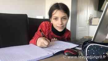 Aulnoye-Aymeries: le coronavirus, le confinement, la joie malgré tout à travers les yeux d'Éloïse, 10 ans - La Voix du Nord