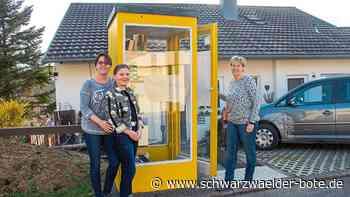 Wildberg: Alte Telefonzelle als Buchtauschplatz - Wildberg - Schwarzwälder Bote