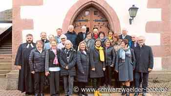 Wildberg: Goldkonfirmanden treten noch einmal vor den Altar - Wildberg - Schwarzwälder Bote