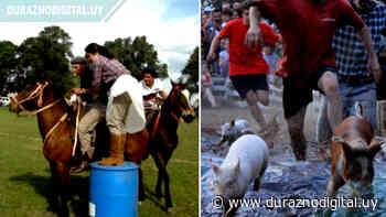 Blanquillo festeja: carrera de la novia, chancho enjabonado, actuación de Los Iracundos y más - duraznodigital.uy
