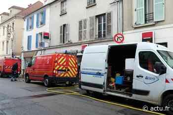 Yvelines. Importante fuite d'eau en centre-ville de Triel-sur-Seine - actu.fr