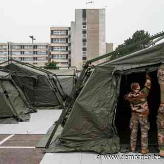 Frankrijk zet leger in om gezondheidscrisis te bezweren