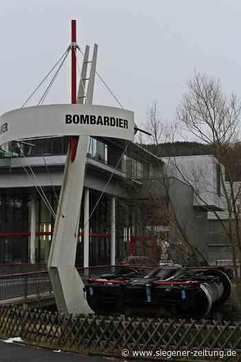 Treffen bei Bombardier: Staatssekretärin kündigt sich an - Siegener Zeitung