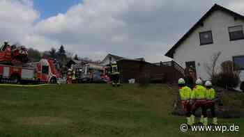 Netphen: Feuer im Haus – Mutter und Töchter unverletzt - Westfalenpost