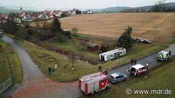 Thüringen: Trauer nach tödlichem Busunfall in Berka - MDR