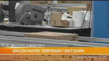Amazon 'Prime Pantry' temporarily closes amid coronavirus outbreak