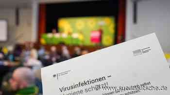 Vorbeugen gegen Coronavirus auf dem Grünen-Parteitag - Süddeutsche Zeitung