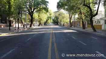 La ciudad de Mendoza está vacía, como un domingo - Mendovoz
