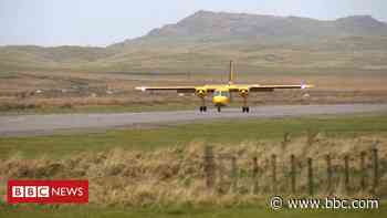 Island flights secured for another four years - BBC News