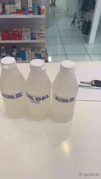 Álcool em gel adulterados são apreendidos em Santa Terezinha de Itaipu - CGN