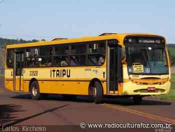 Ônibus da Linha Santa Terezinha de Itaipu muda itinerário atender decreto - Rádio Cultura Foz
