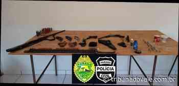 Operação contra comércio ilegal de armas prende quatro pessoas em Wenceslau Braz - tribunadovale.com.br