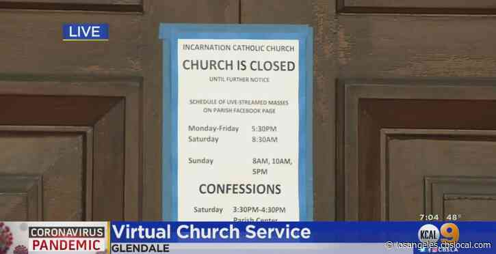 More Houses Of Worship Offering Virtual Services In Wake Of COVID-19 Pandemic