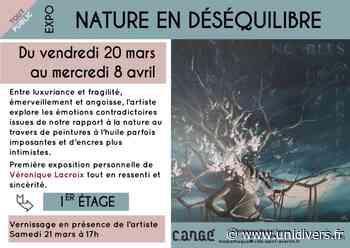 Expo : Nature en déséquilibre Médiathèque de Cangé 20 mars 2020 - Unidivers