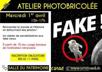 Atelier photobricolée Médiathèque de Cangé 1 avril 2020 - Unidivers