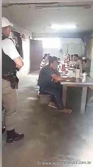 Veja o Vídeo: Em Gramado Xavier, a 73 km de Soledade, a Brigada Militar teve de intervir em um bar - Acontece no RS