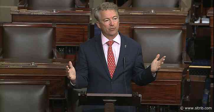 Rand Paul is first senator to report positive test for virus