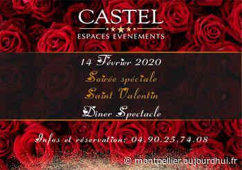 Saint Valentin 2020 au Castel - Castel Espaces Evénement, Villeneuve-les-Avignon, 30400 - Sortir à Montpellier - Le Parisien Etudiant